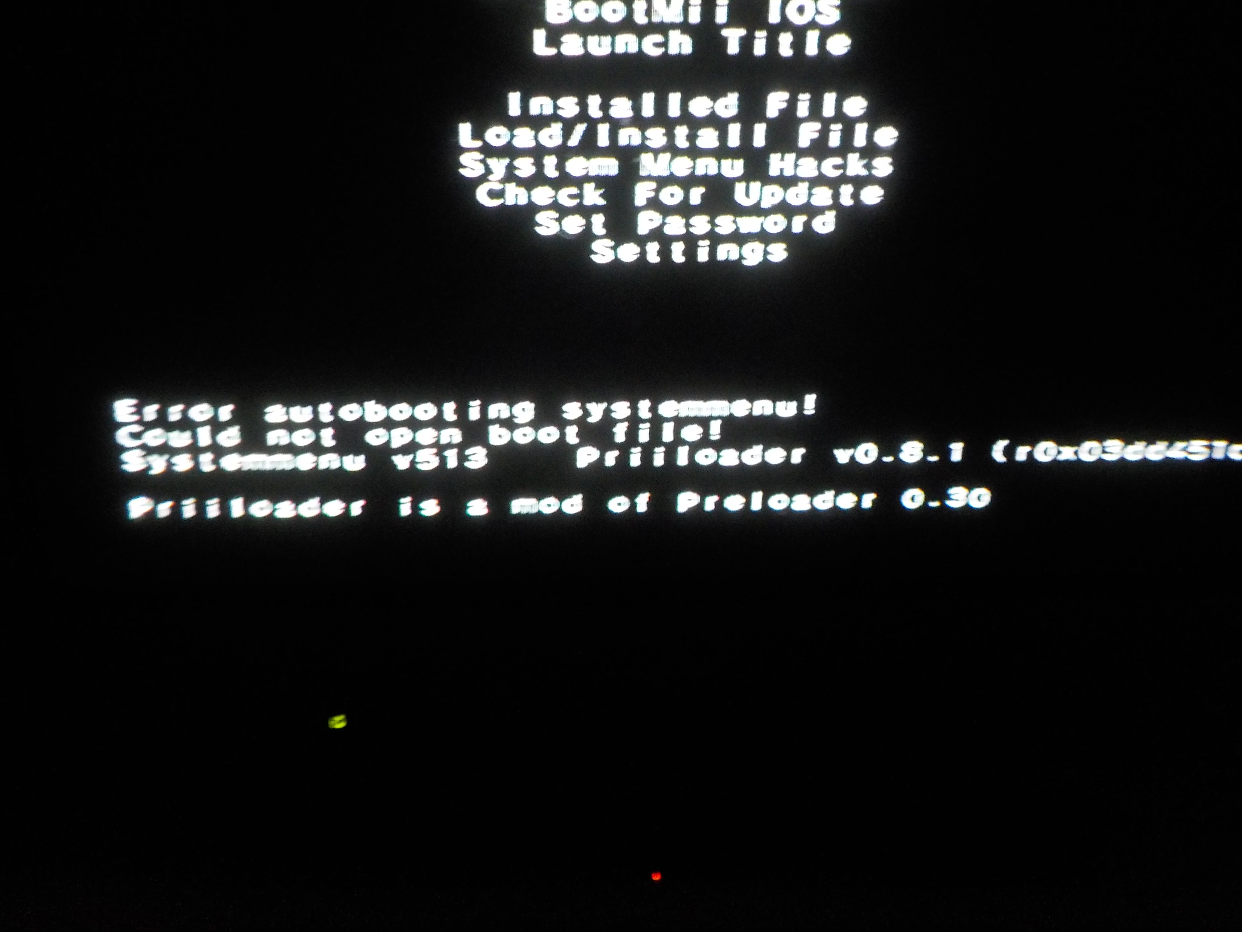 Installing Homebrew Browser Exception Dsi Occurred Wii