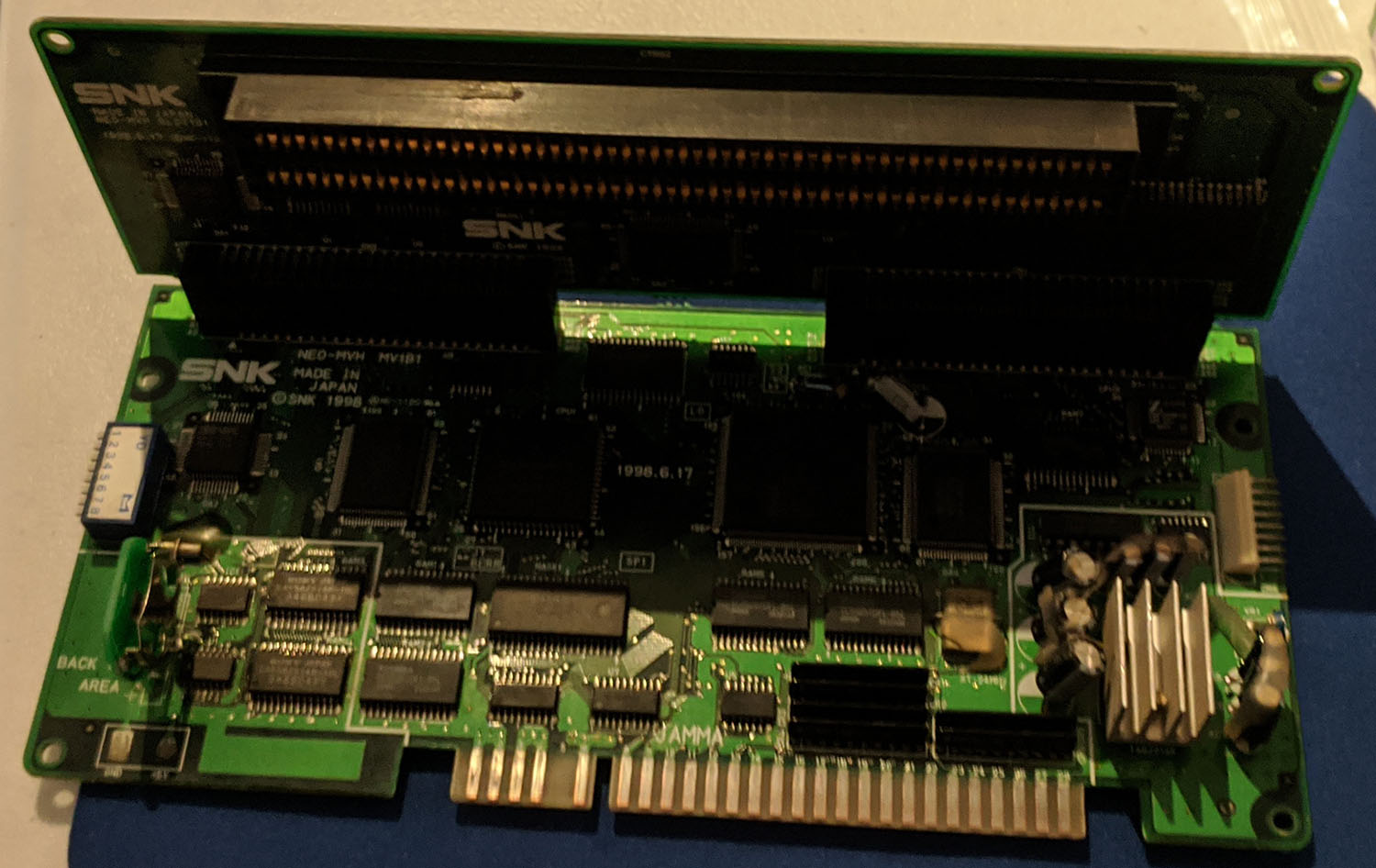 mvs board partly modded.jpg